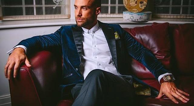 Calum Best suit from Oliver Littley